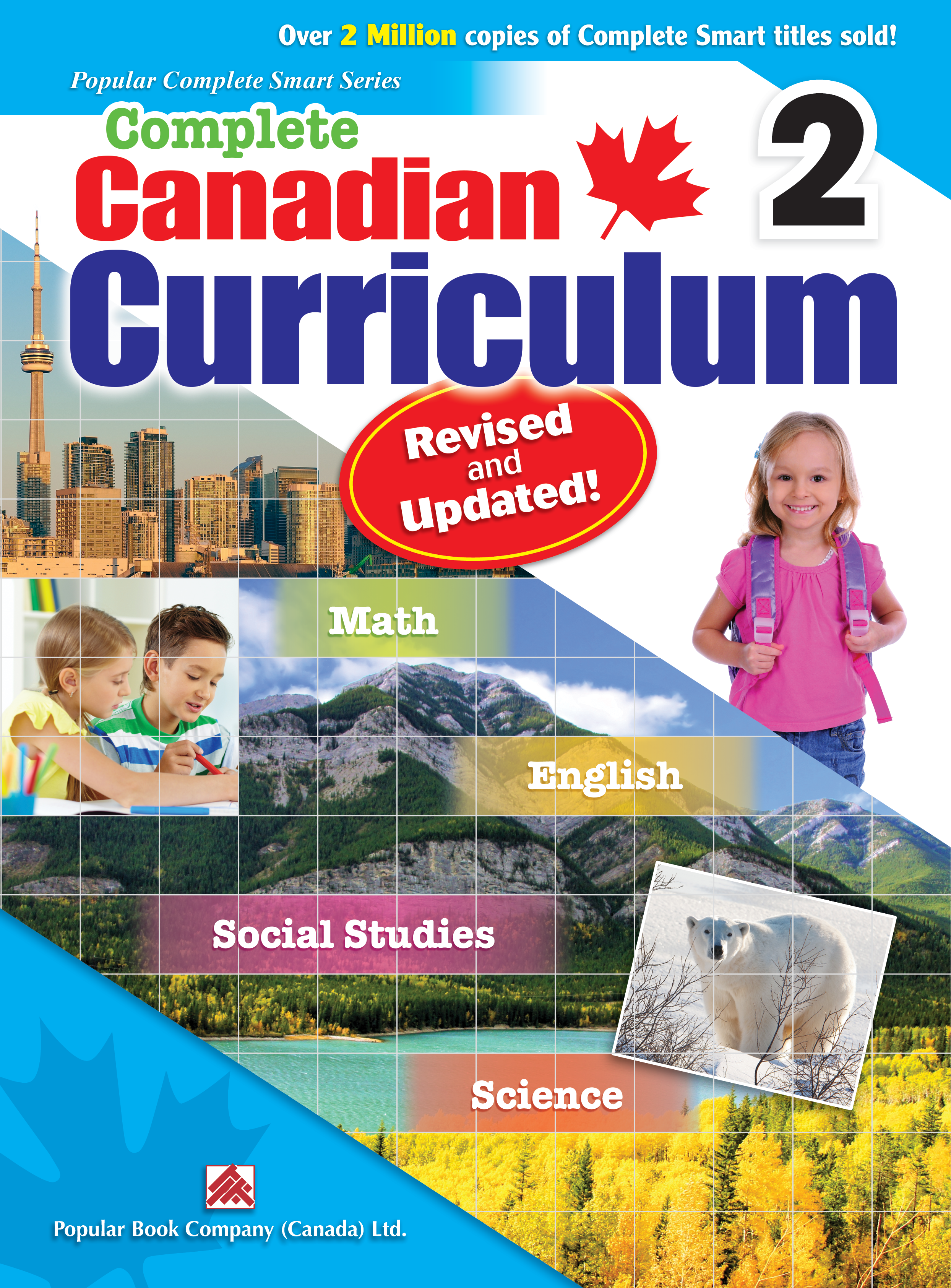 Canadian Curriculum Science Workbook for Grade 4 Complete ScienceSmart 4