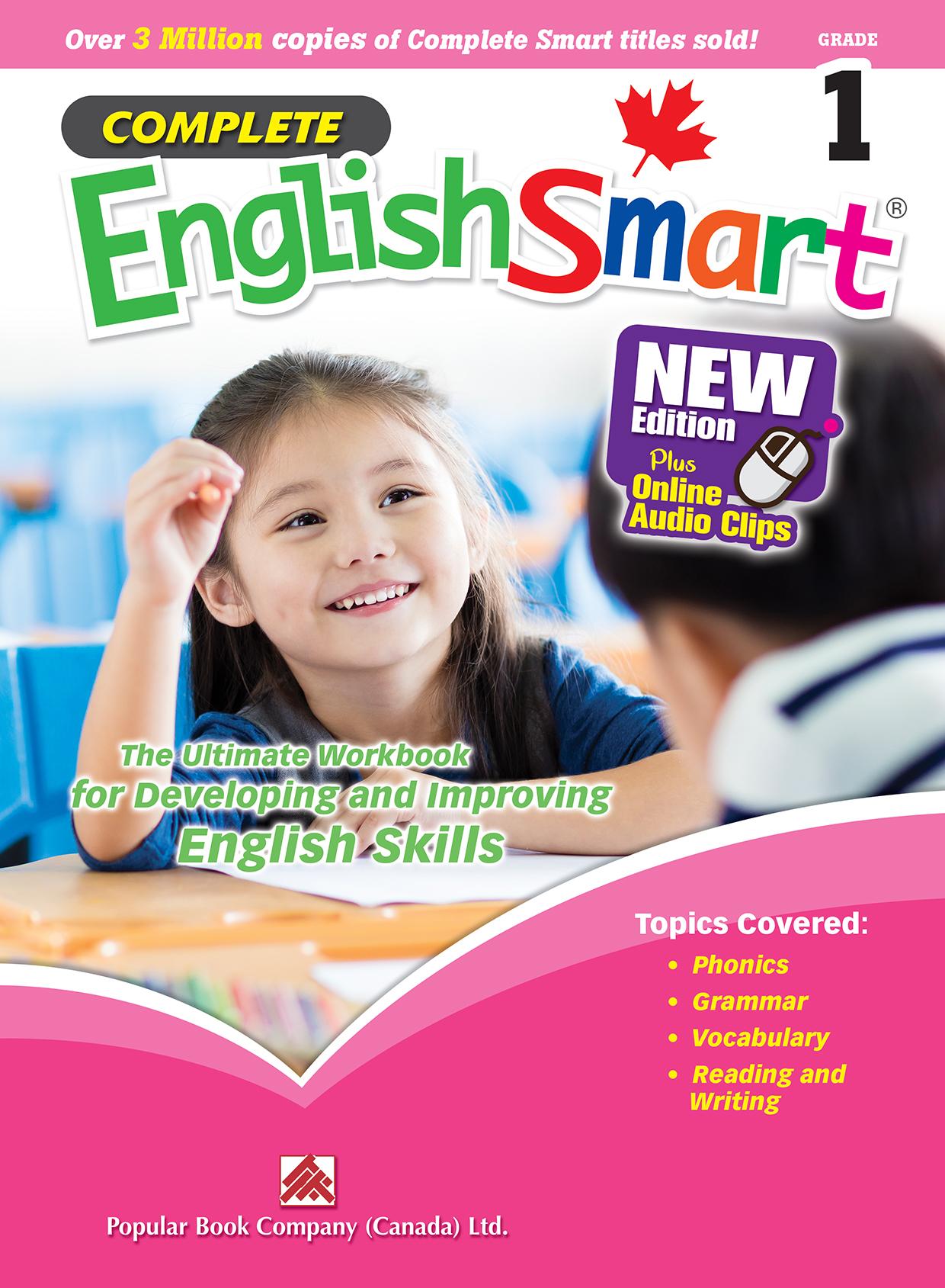 Complete EnglishSmart Grade 1 | Popular Book Company (Canada