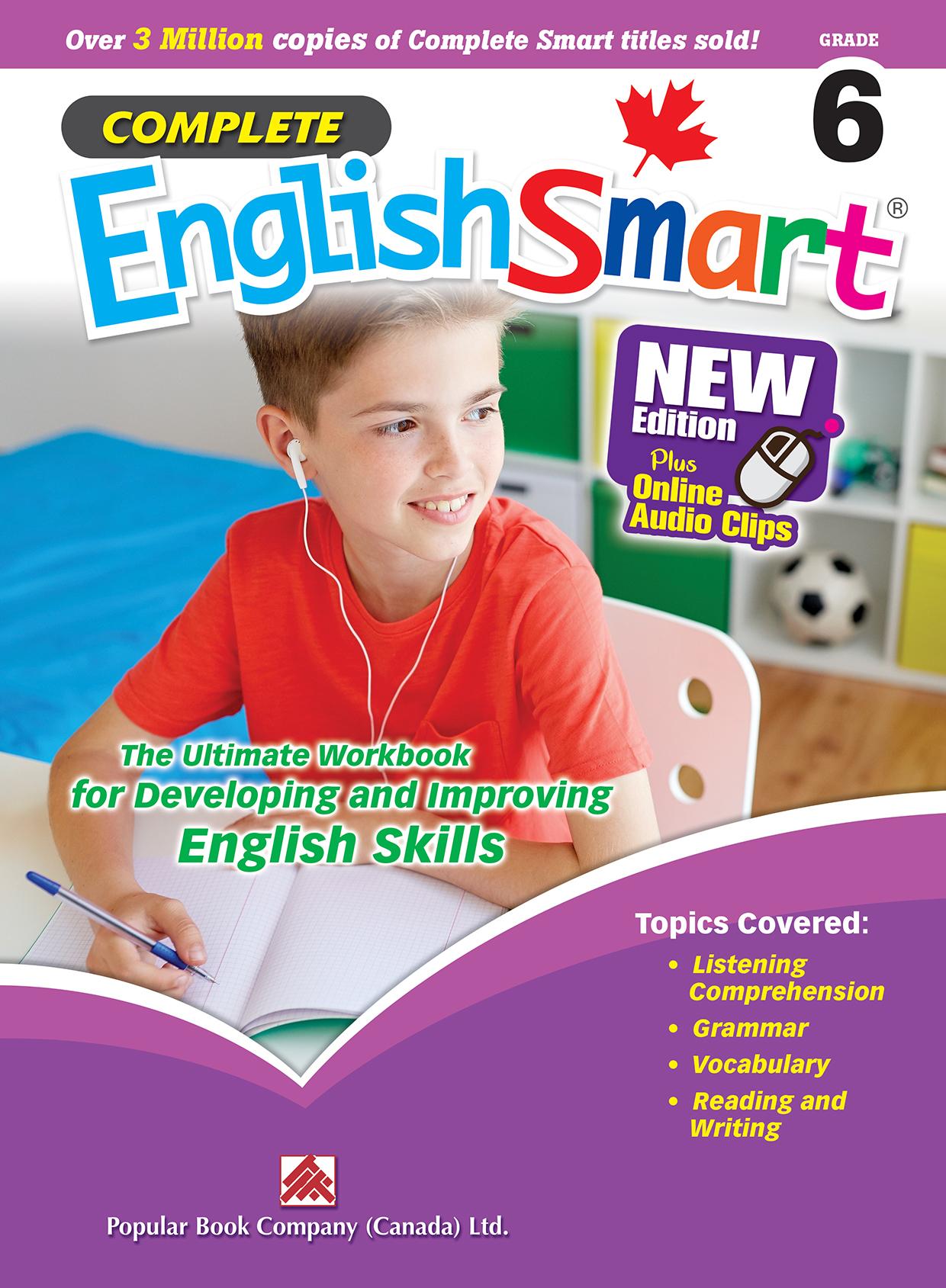 Complete EnglishSmart Grade 6 | Popular Book Company (Canada