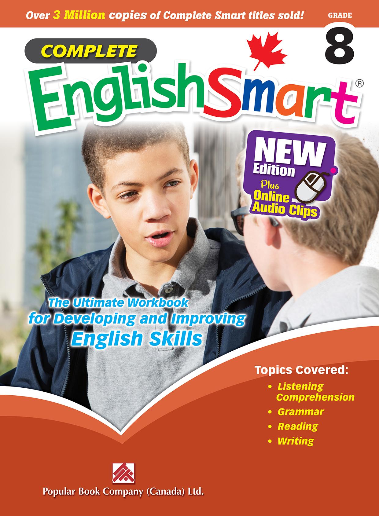 Complete EnglishSmart Grade 8   Popular Book Company (Canada