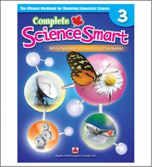 Canadian Curriculum Science Workbook Complete ScienceSmart grade 3