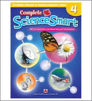 Canadian Curriculum Science Workbook Complete ScienceSmart grade 4