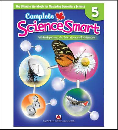 Canadian Curriculum Science Workbook Complete ScienceSmart grade 5