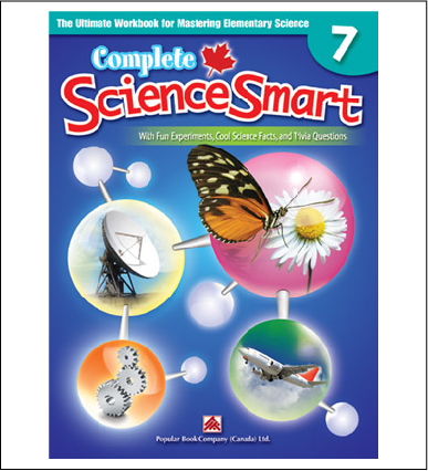 Canadian Curriculum Science Workbook Complete ScienceSmart grade 7