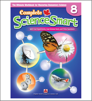 Canadian Curriculum Science Workbook Complete ScienceSmart grade 8