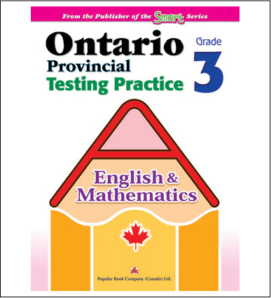 Ontario Provincial Testing Practice (English & Math) Grade 3-0
