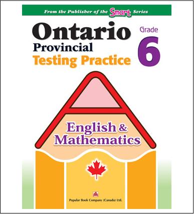 Ontario Provincial Testing Practice (English & Math) Grade 6-0