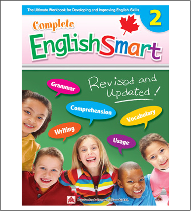 Canadian Curriculum English Workbook Complete EnglishSmart grade 2