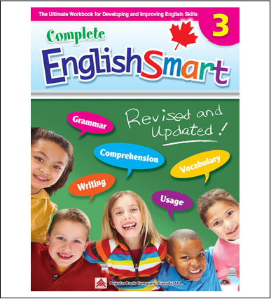 Canadian Curriculum English Workbook Complete EnglishSmart grade 3