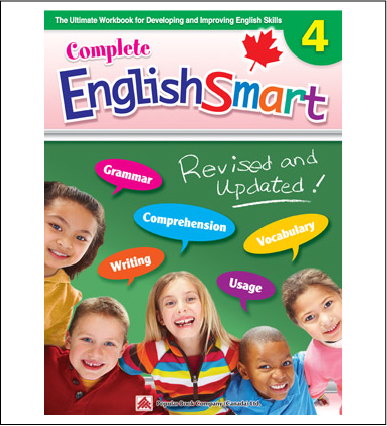 Canadian Curriculum English Workbook Complete EnglishSmart grade 4