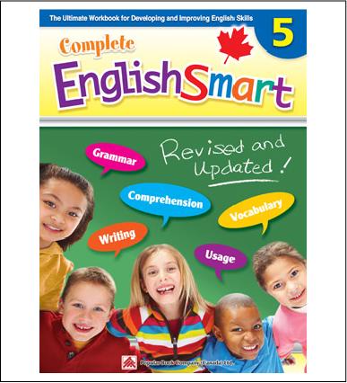 Canadian Curriculum English Workbook Complete EnglishSmart grade 5
