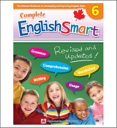 Canadian Curriculum English Workbook Complete EnglishSmart grade 6