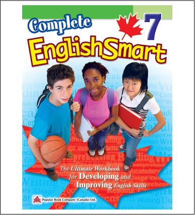 Canadian Curriculum English Workbook Complete EnglishSmart grade 7