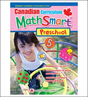 Activty Book for Kids Canadian Curriculum MathSmart Preschool
