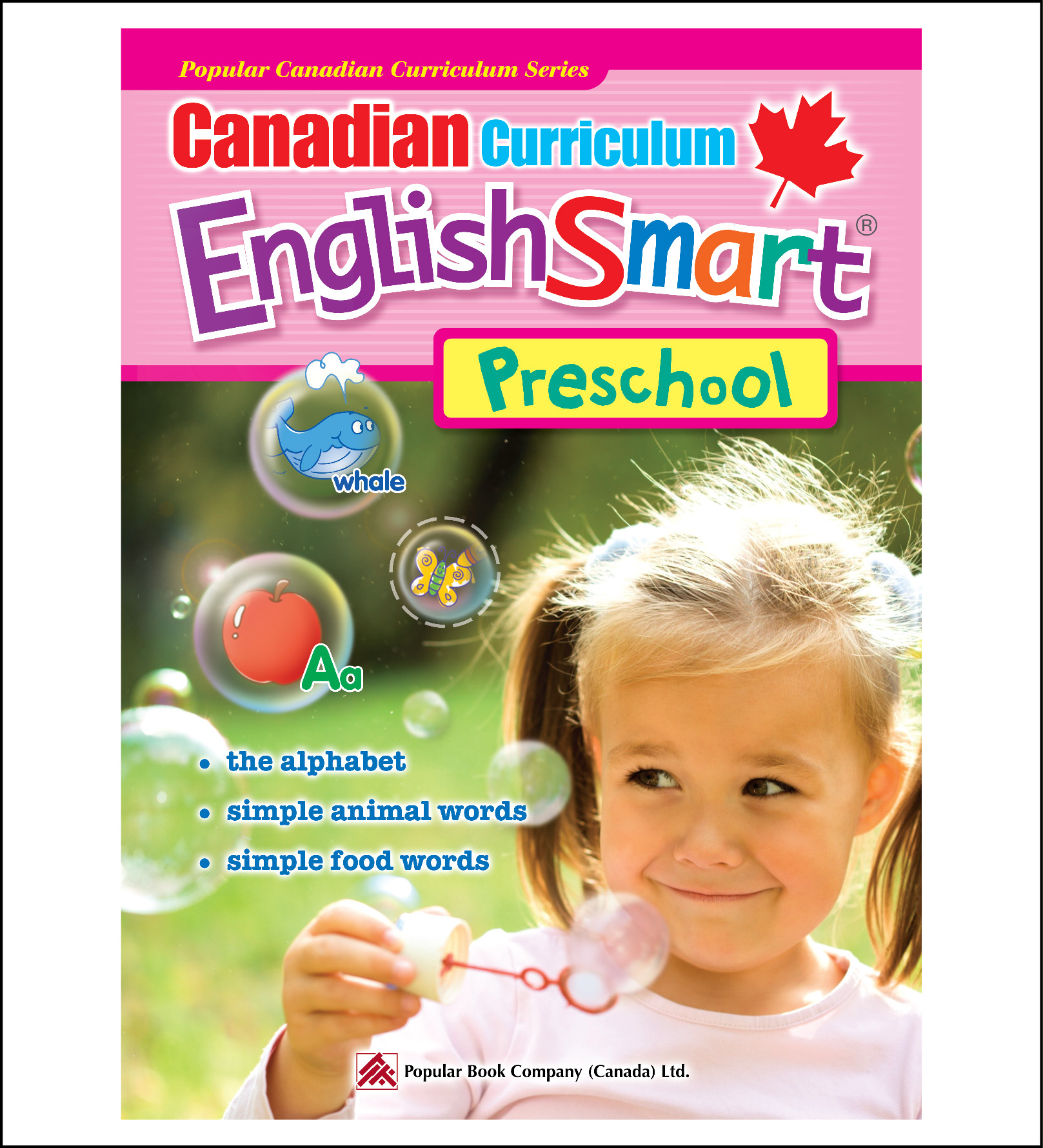 Activty Book for Kids Canadian Curriculum EnglishSmart Preschool