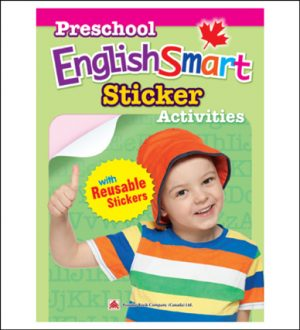 English activty book for kids Preschool EnglishSmart Sticker Activities
