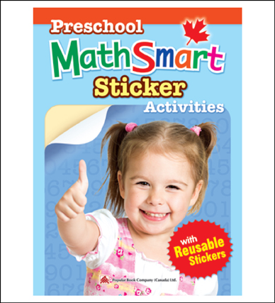 Math activty book for kids Preschool MathSmart Sticker Activities