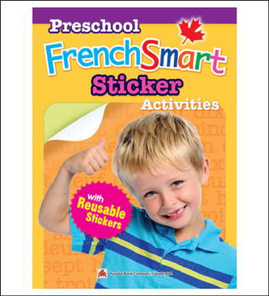French activty book for kids Preschool FrenchSmart Sticker Activities