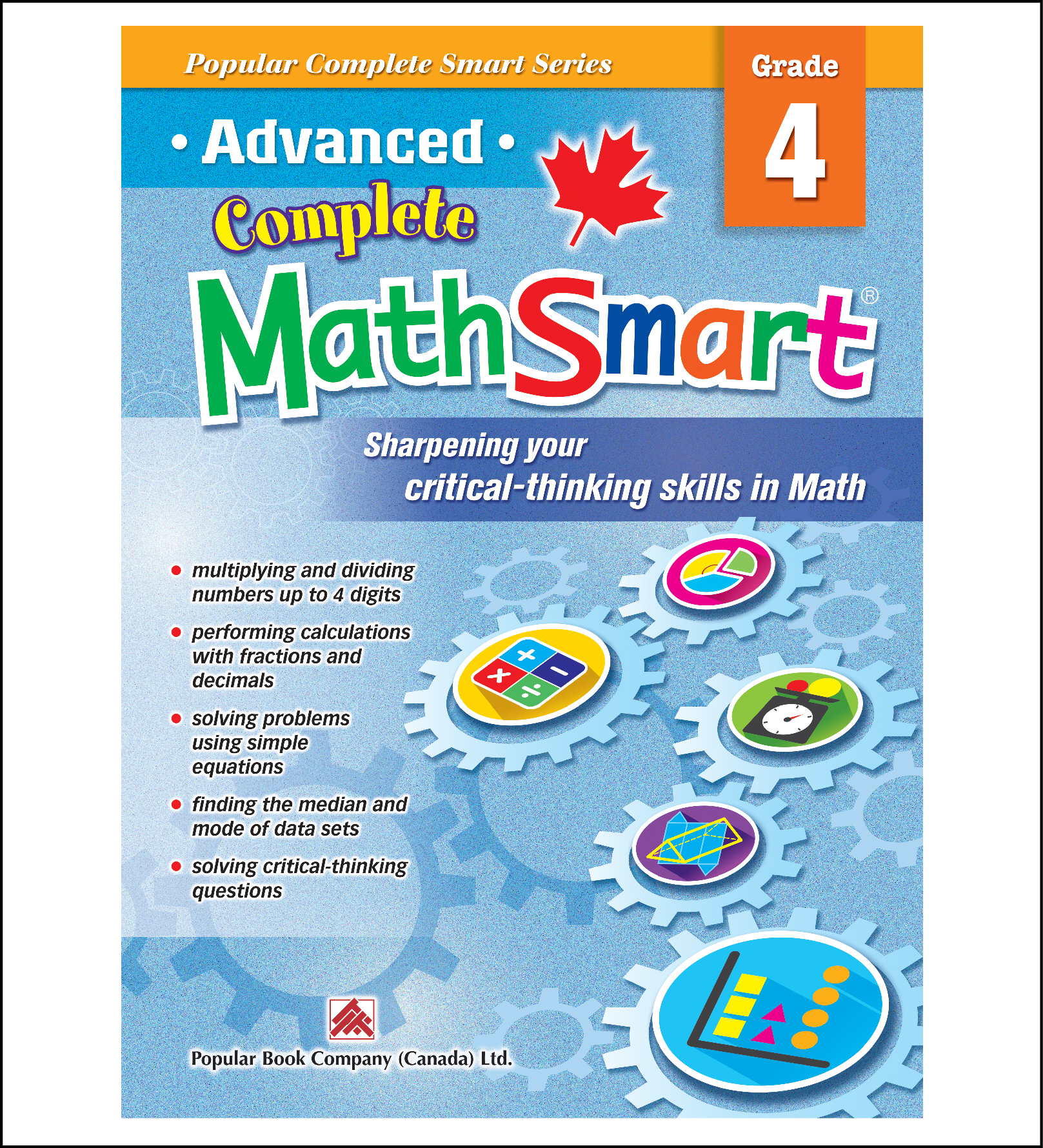 Advanced Complete MathSmart Grade 4 | Popular Book Company