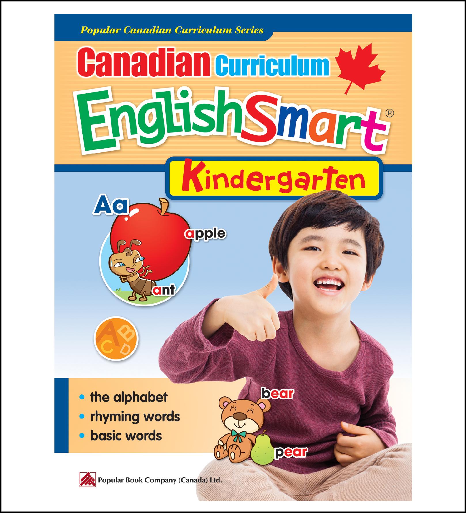 Canadian Curriculum EnglishSmart (Kindergarten)-0
