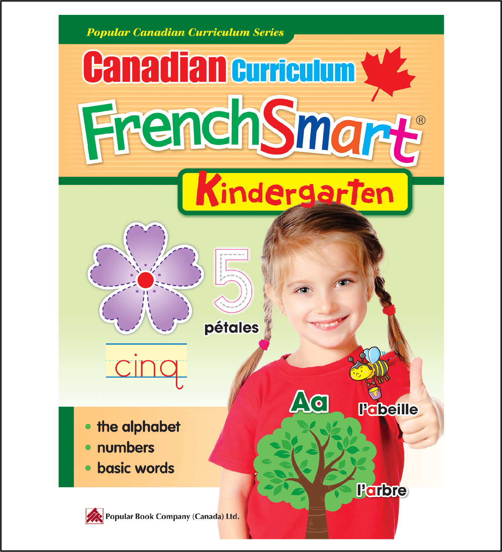 Canadian Curriculum FrenchSmart (Kindergarten)-0