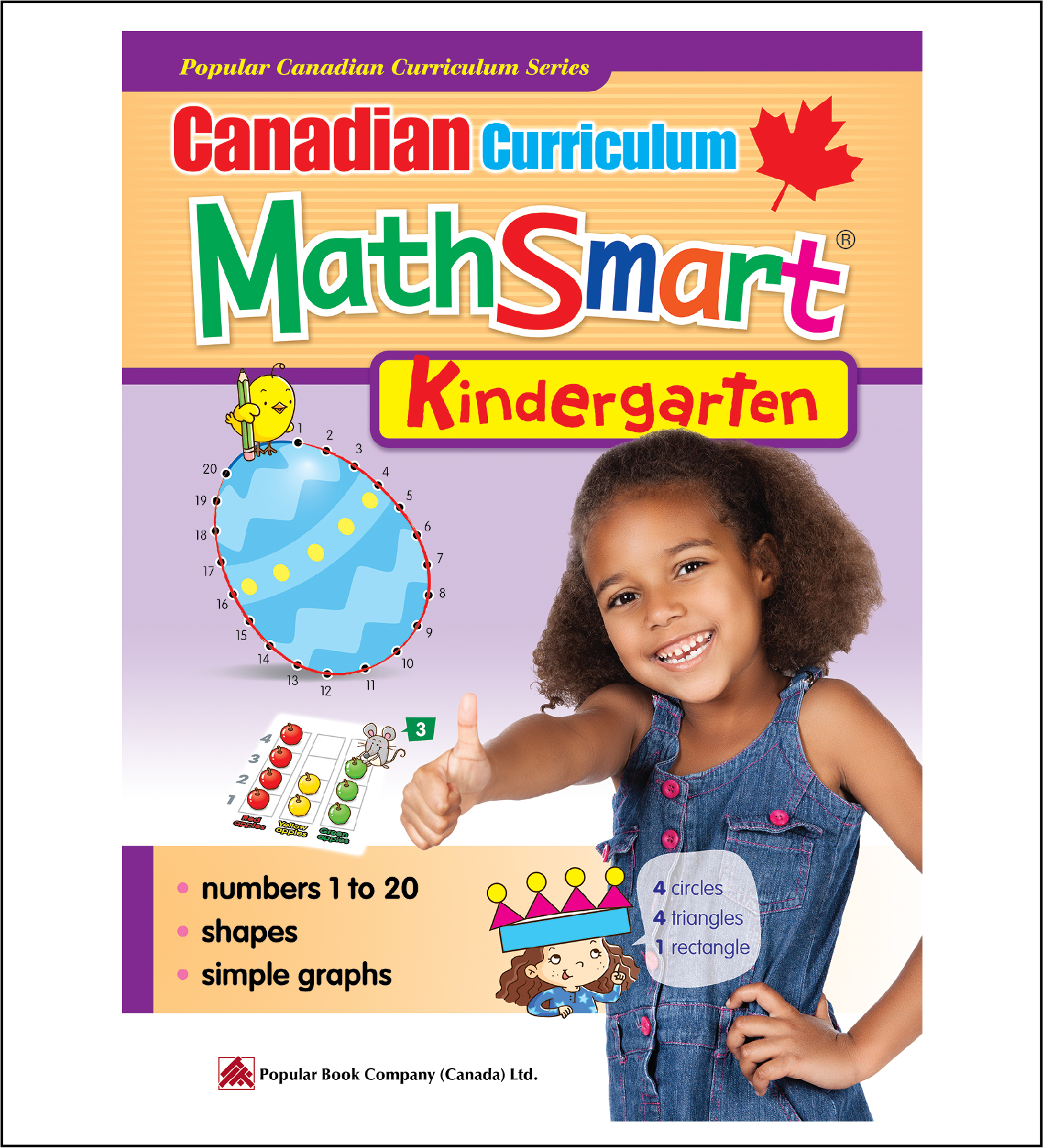 Canadian Curriculum MathSmart (Kindergarten)-0