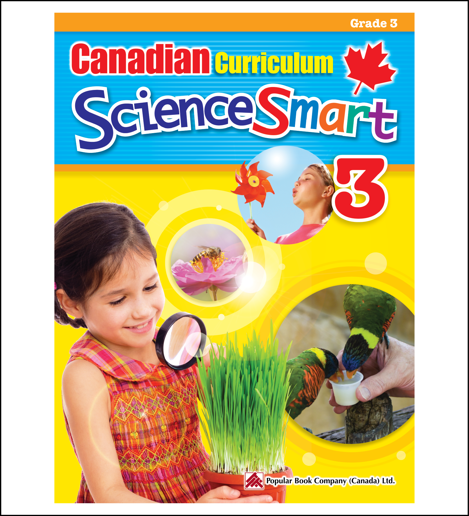 Science Workbook Canadian Curriculum ScienceSmart Grade 3