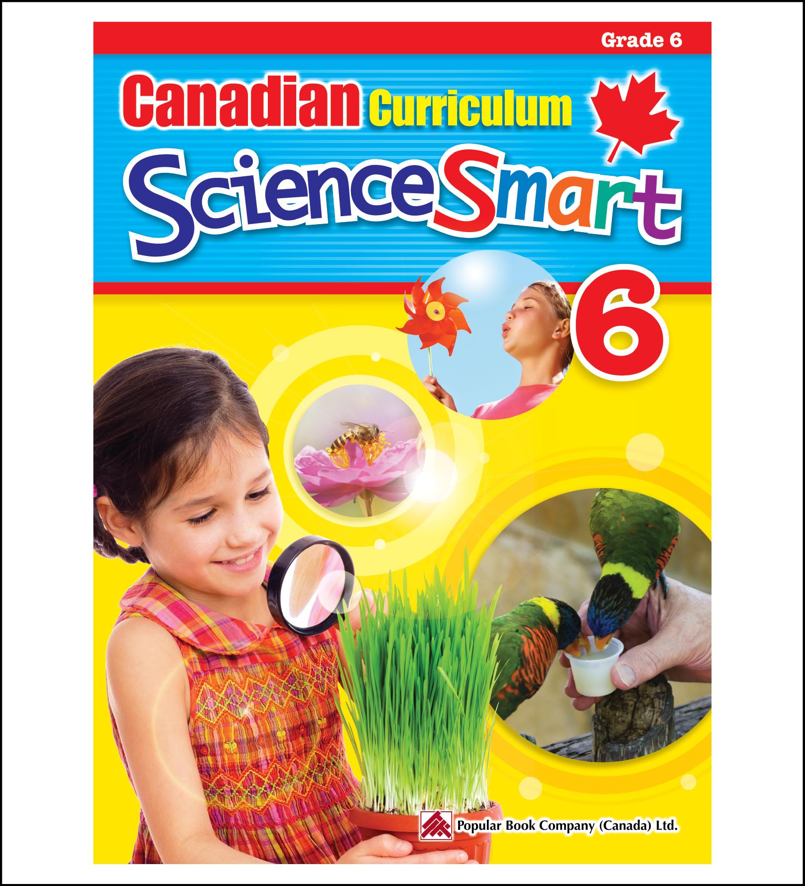 Science Workbook Canadian Curriculum ScienceSmart Grade 6