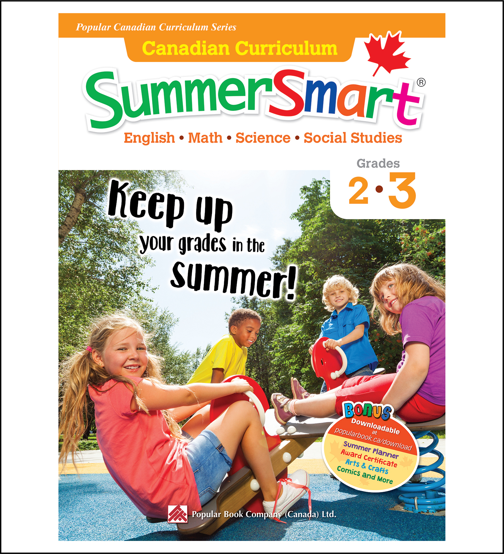 Canadian Curriculum SummerSmart Grades 2-3-0