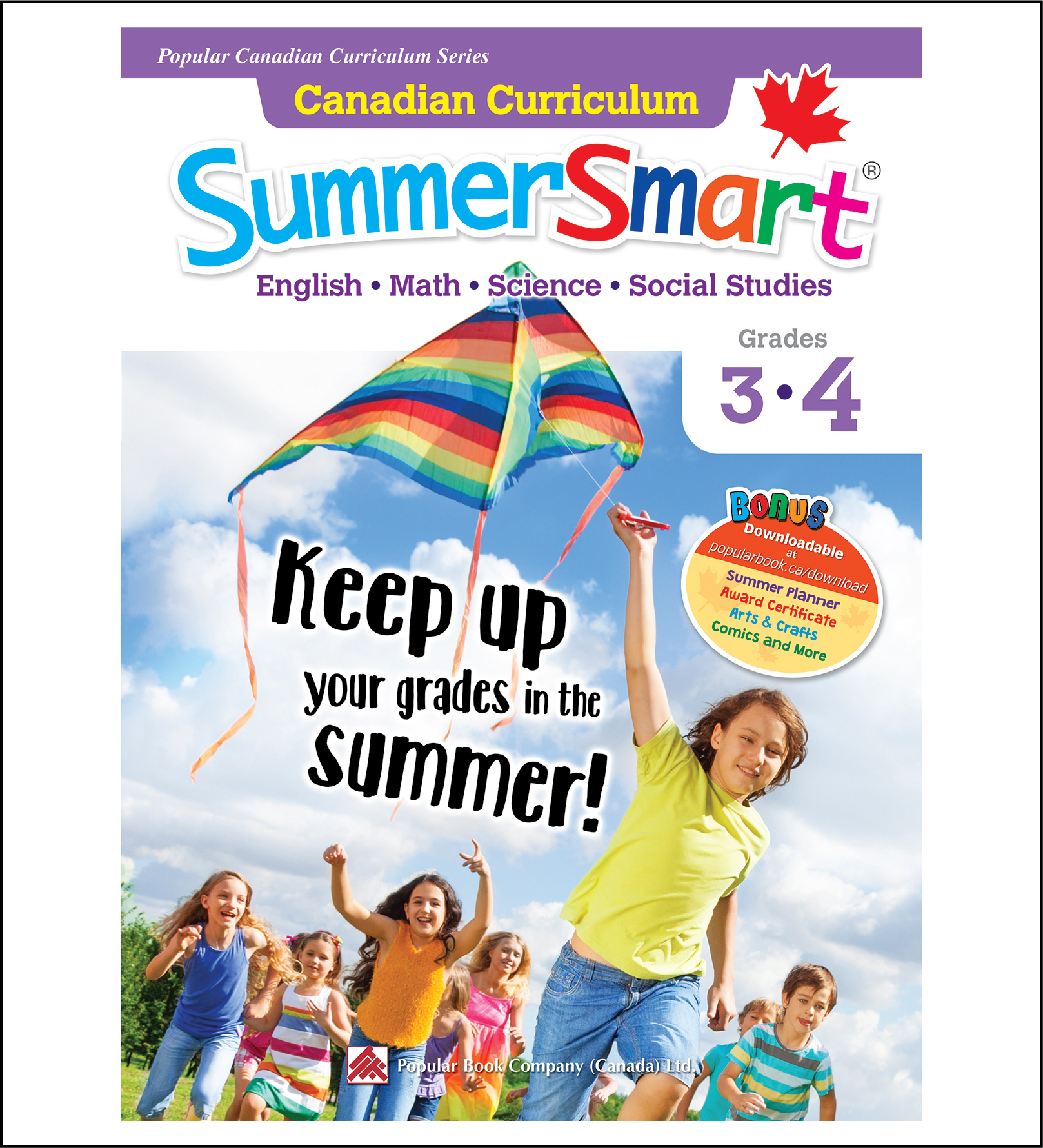 Canadian Curriculum SummerSmart Grades 3-4-0
