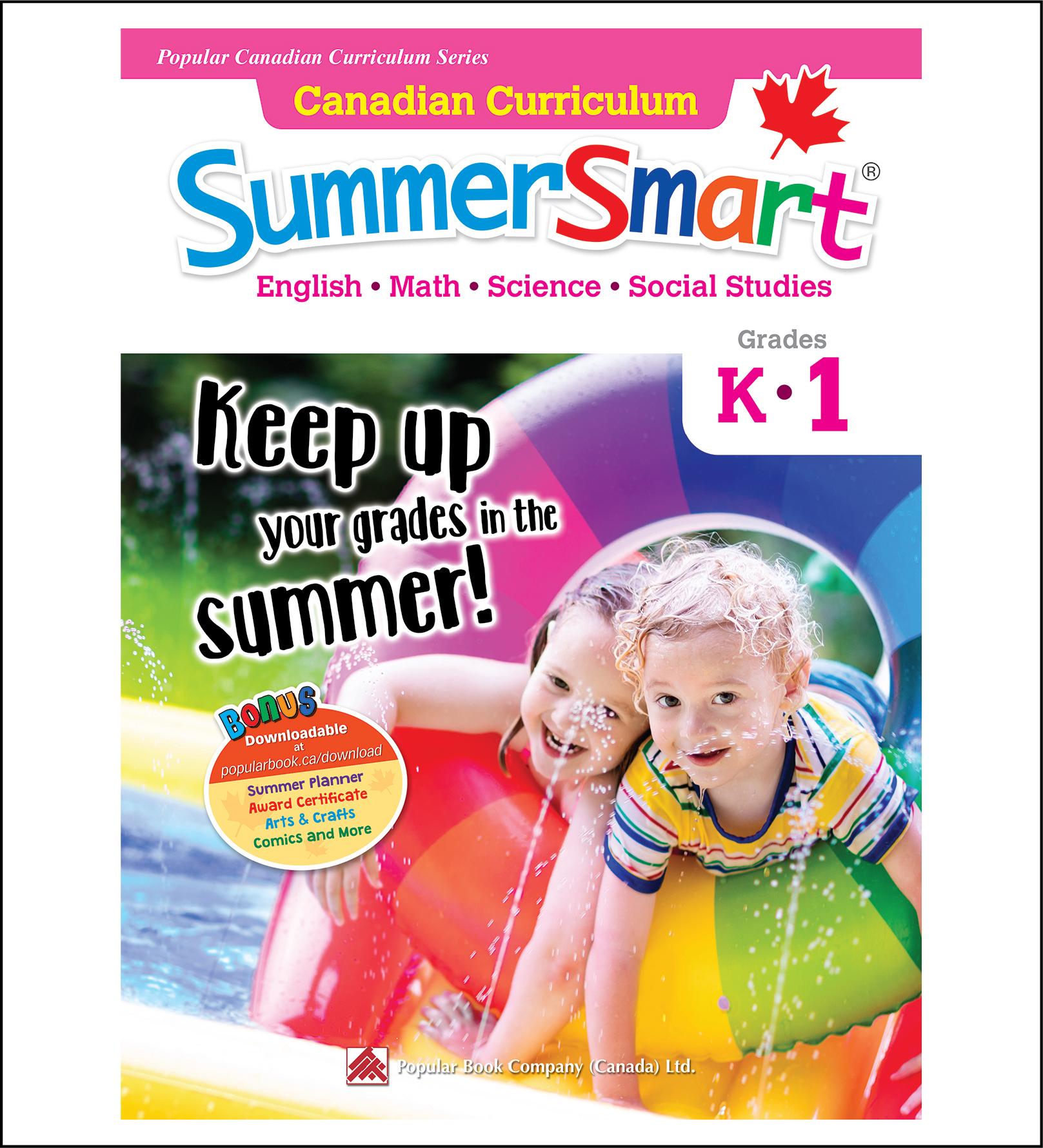 Canadian Curriculum SummerSmart Grades K-1-0