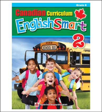 English Workbook Canadian Curriculum EnglishSmart Grade 2