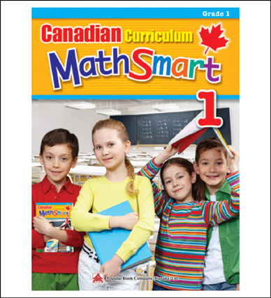 Math Workbook Canadian Curriculum MathSmart Grade 1