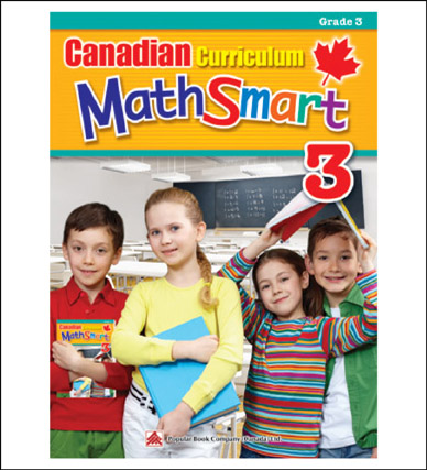 Math Workbook Canadian Curriculum MathSmart Grade 3