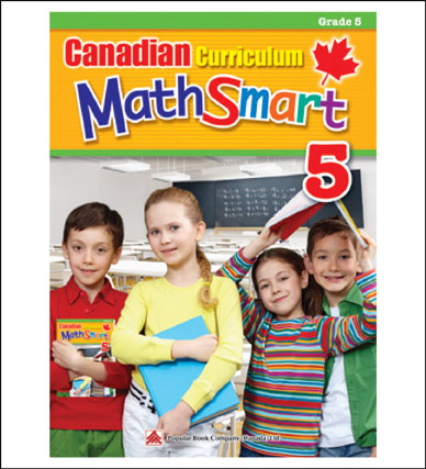 Math Workbook Canadian Curriculum MathSmart Grade 5