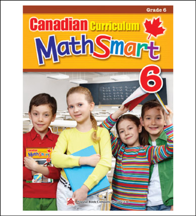 Math Workbook Canadian Curriculum MathSmart Grade 6
