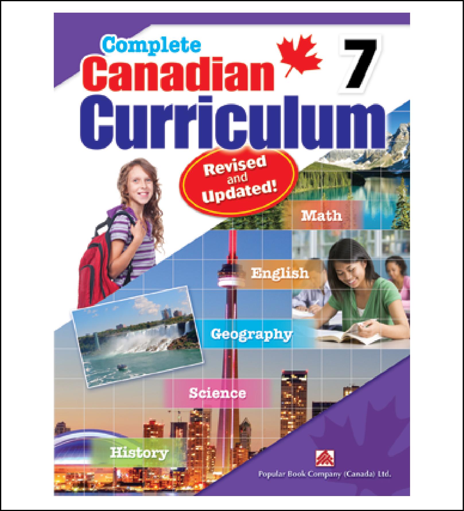 Complete Canadian Curriculum Workbook grade 7