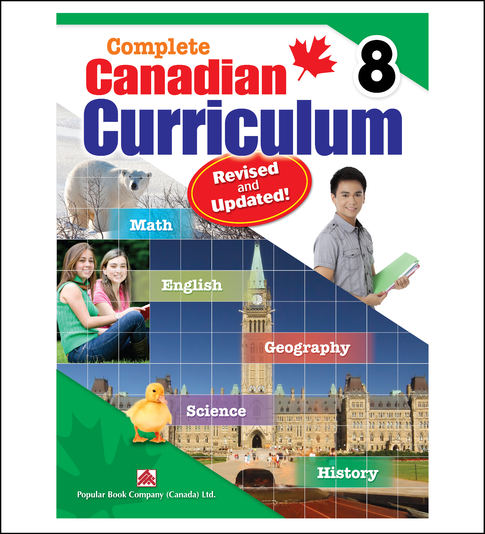 Complete Canadian Curriculum Workbook grade 8