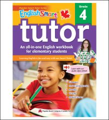Canadian Curriculum English Workbook EnglishSmart Tutor grade 4
