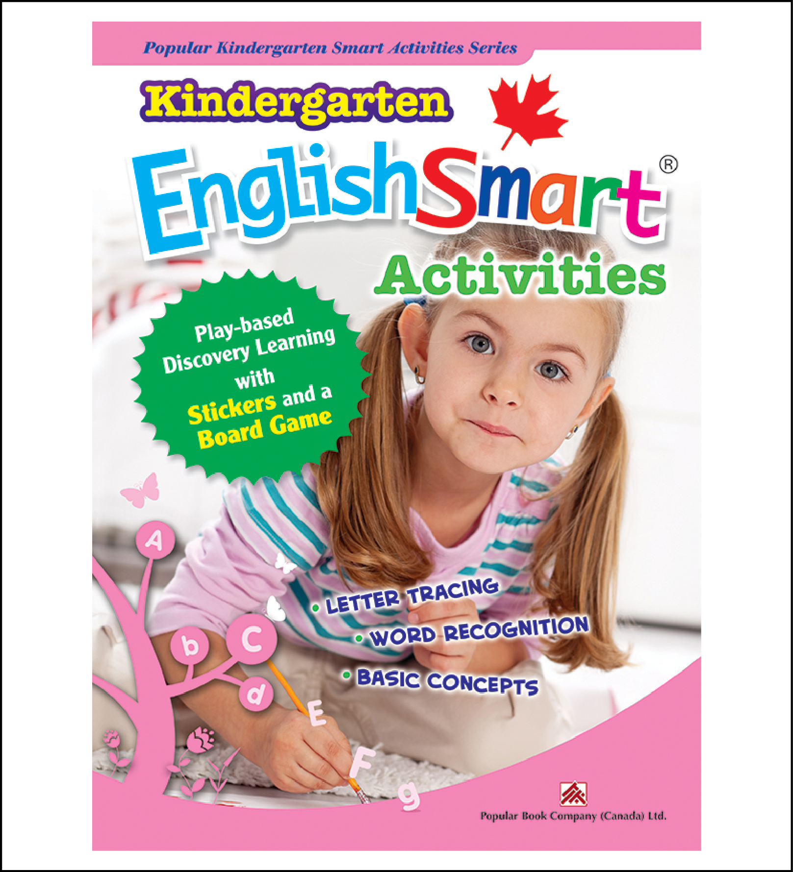 Activtiy book for kids Kindergarten EnglishSmart Activities