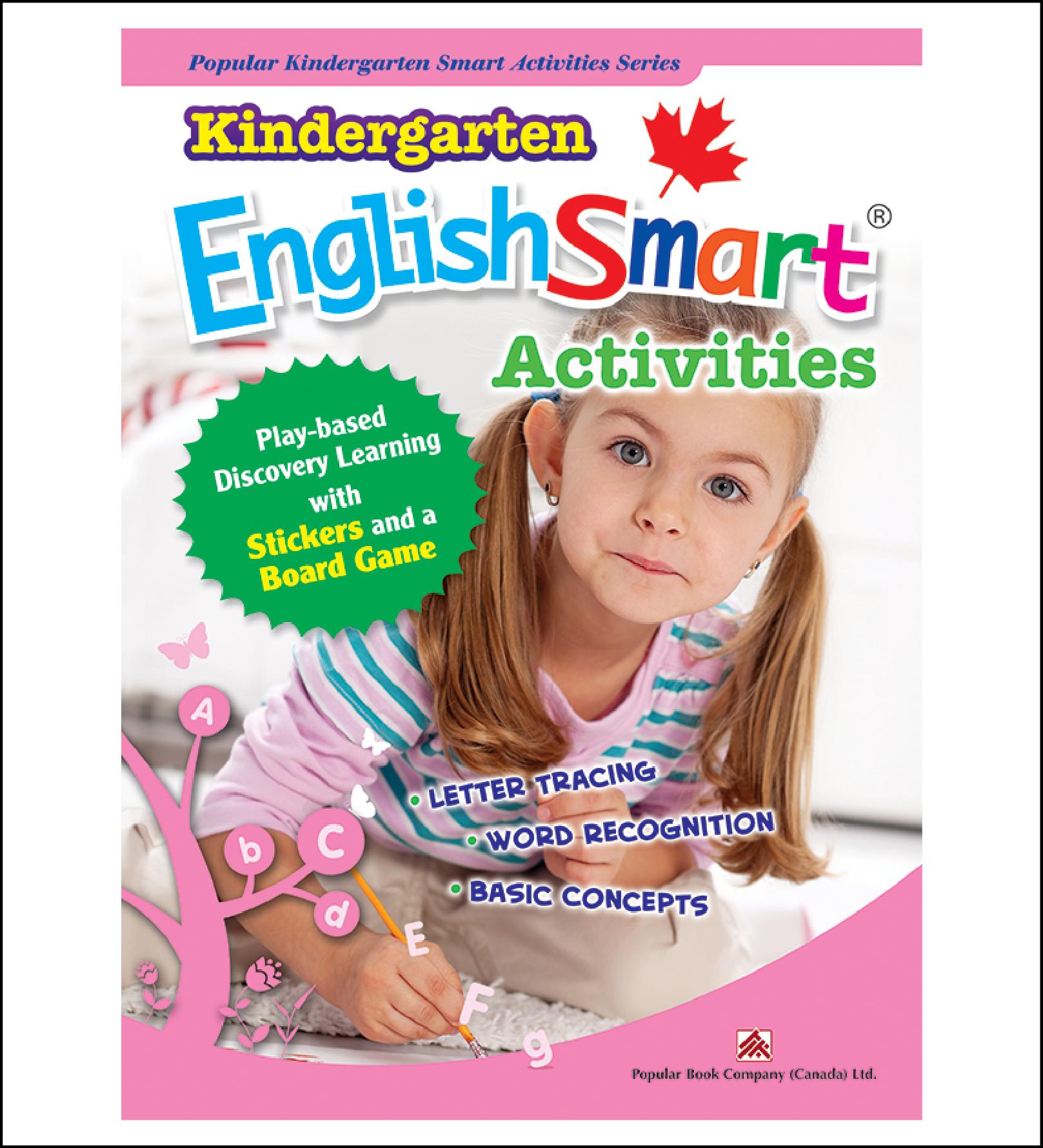 Activtiy book for kids Kindergarten EnglishSmart Activities