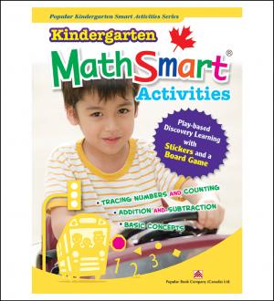 Activtiy book for kids Kindergarten MathSmart Activities