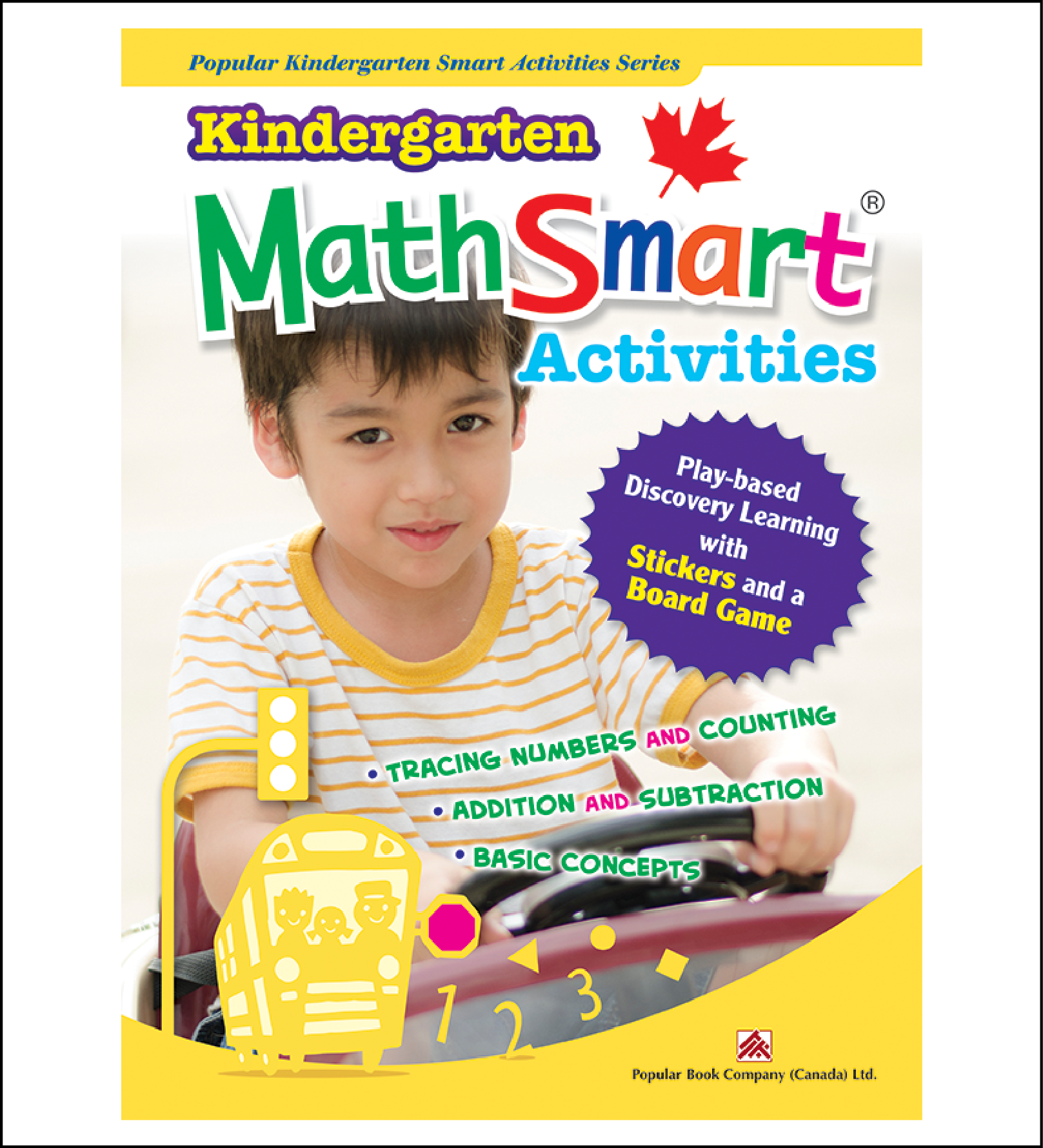 Activtiy book for kids Kindergarten MathSmart Activities