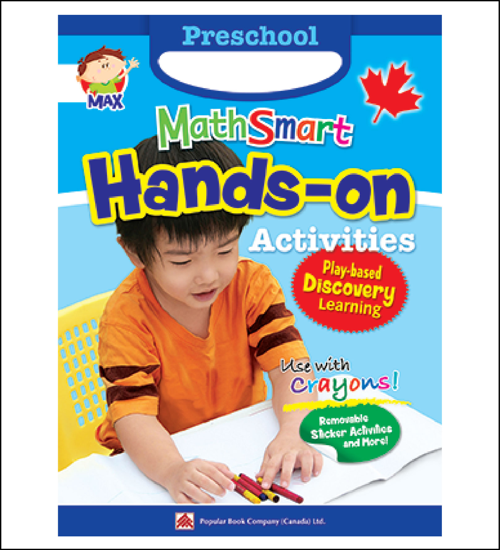 Math activty book for kids Preschool MathSmart Hands-on Activities