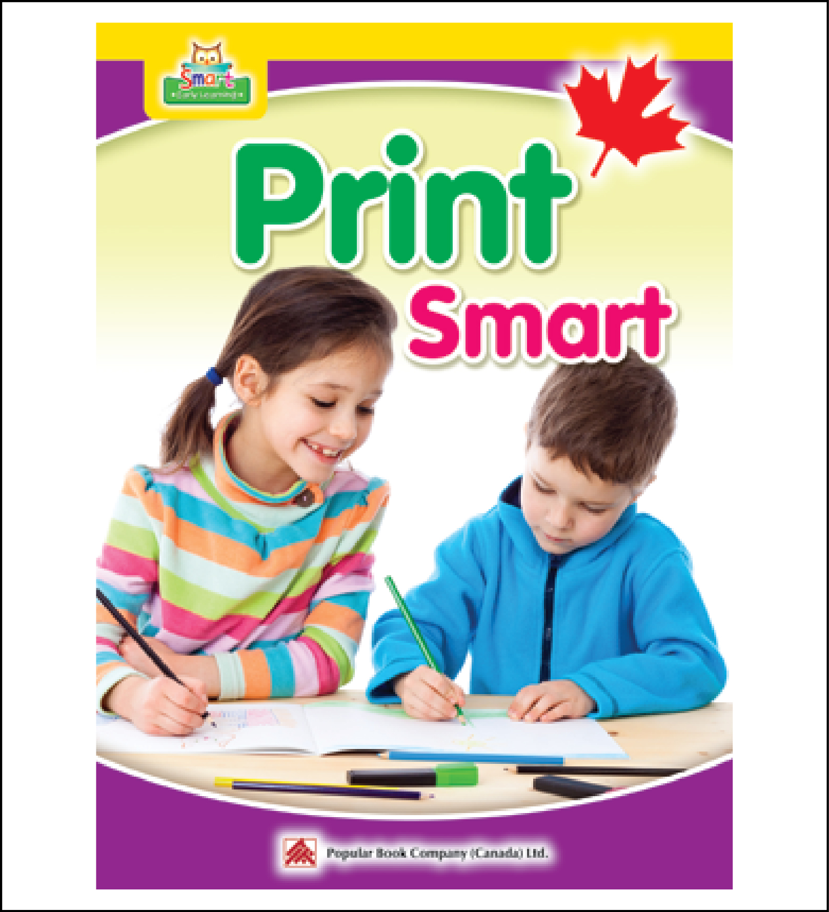 ABC activity books for kids Smart Early Learning PrintSmart